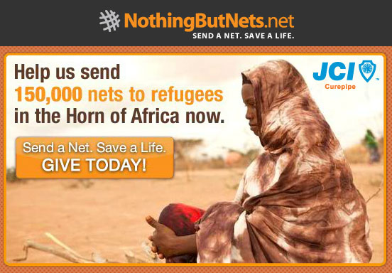 Send a Net, Save a Life!