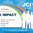JCI Curepipe has the pleasure to invite JCI members to the JCI IMPACT Training on Saturday 19th October 2013 from 9am to 1pm at the Conference Room of Bagatelle Mall. […]