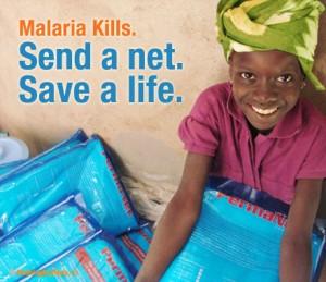 JCI Nothing But Nets, Send a net, Save a life