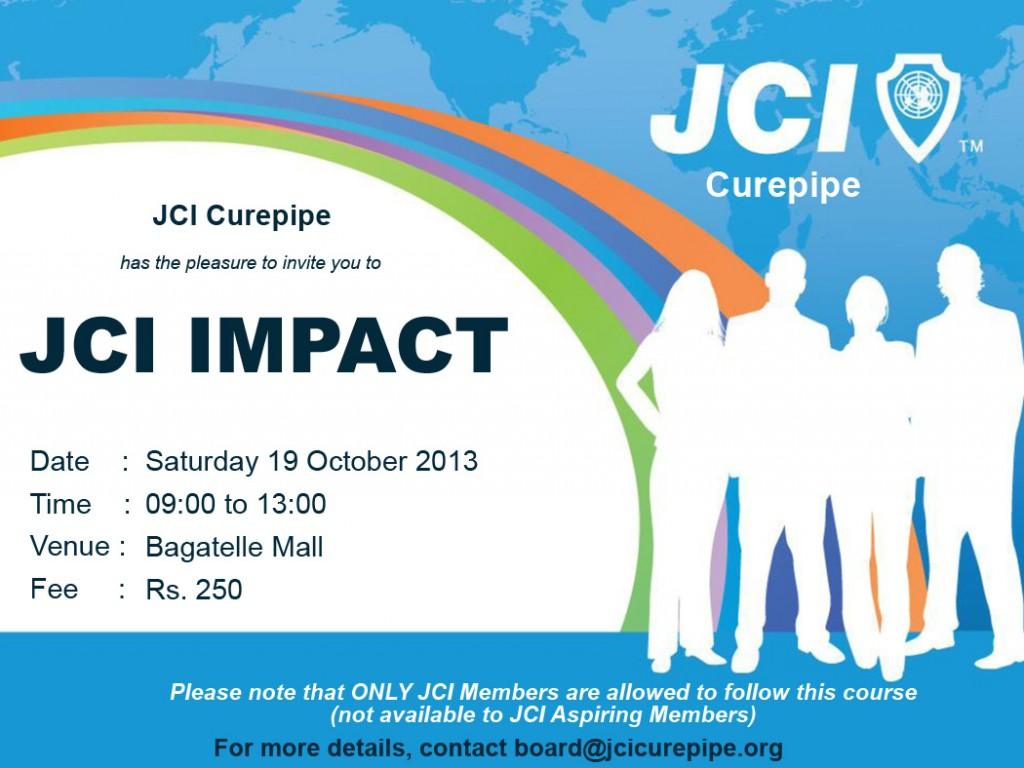 JCI Impact Invitation
