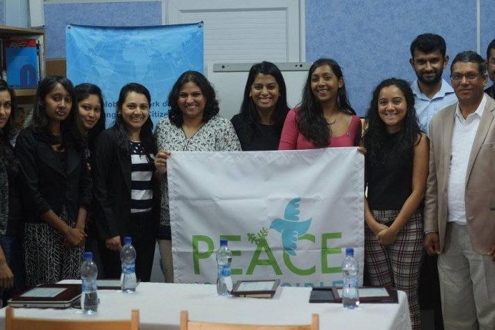 """<br /> JCI Curepipe contributed once more to the JCI Campaign: """"Peace is Possible"""" by collaborating with Global Dignity Mauritius on a Peace Forum under the theme:Peace through Dignity on the"""